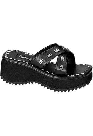 FLIP-05 Skulls Platform Sandals