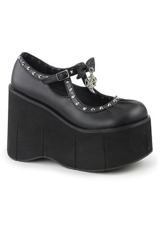 Kera-14 Platform shoes with Charms