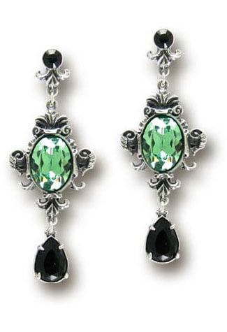 Queen of the Night Dangle Earrings