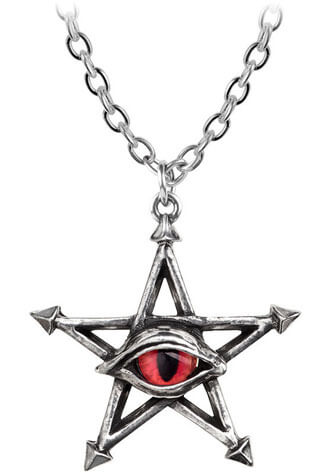 The Red Curse Pendant Necklace
