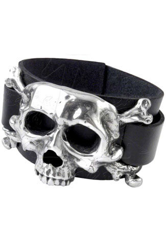 I Dieth Leather Wristband