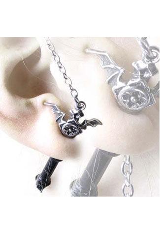 Ruthven Cross Earring Stud