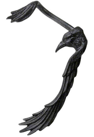 Raven Ear Wing Ear Cuff
