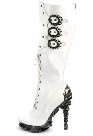 HYPERION White Spinal Boots