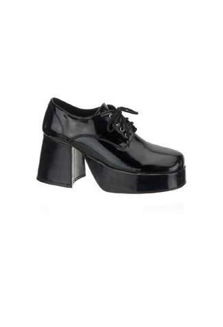 JAZZ-02 Black Patent Shoes