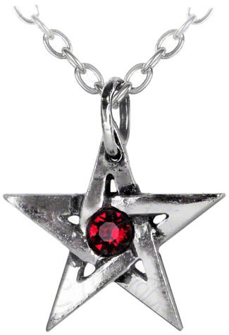 Crystal Pentagram Pendant