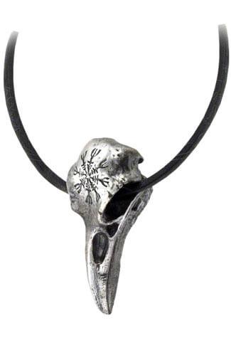 Helm of Awe Ravenskull Pendant