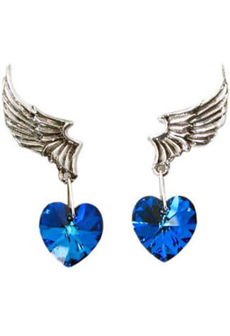 El Corazon Dangle Earings