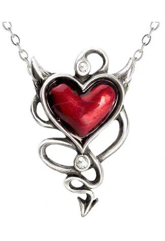 Devil Heart Pendant