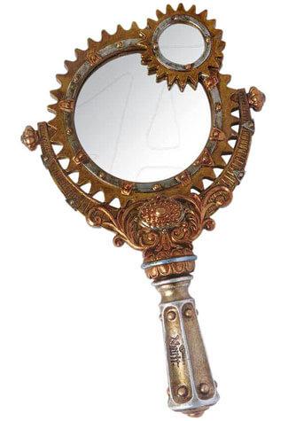 Lady Talbot's Retrospector Hand Mirror