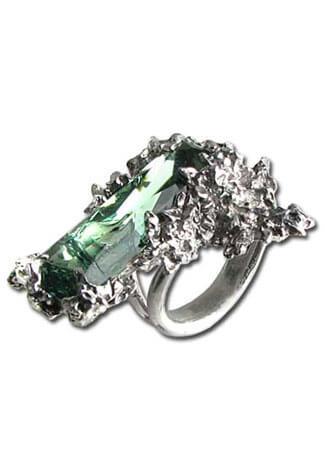 Winter Garden Crystal Ring