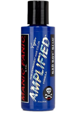 Bad Boy Blue Amplified Hair Dye