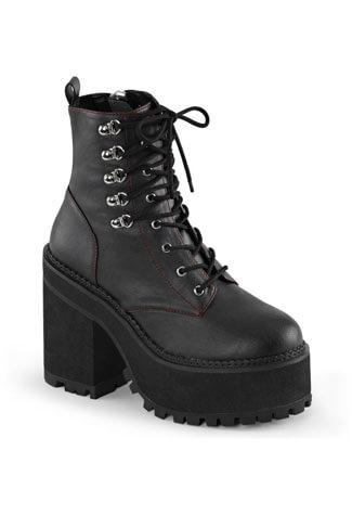 ASSAULT-100 Veggie Leather Boots