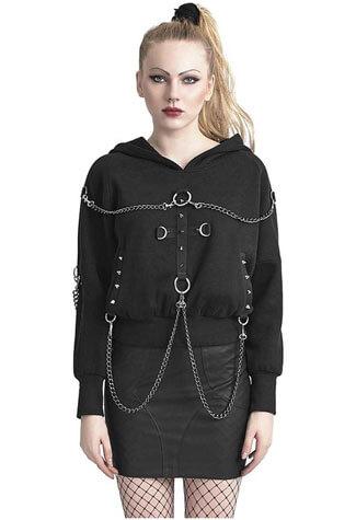 Bat Chain Hoodie
