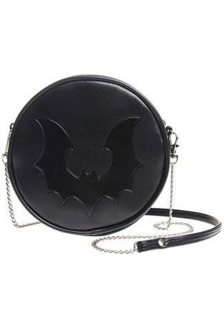Bat Circle Shoulder Bag