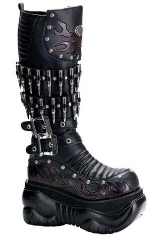 BOXER-201 Platform Boots - Clearance
