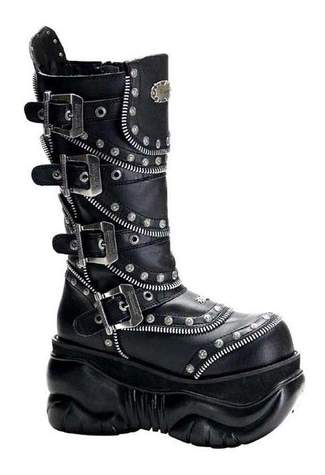 BOXER-203 Buckle Boots - Clearance
