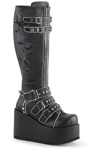 CONCORD-110 Platform Knee High Boots