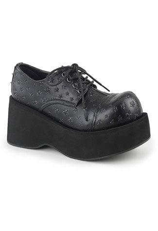 DANK-111 Platform Lace-Up Oxford Shoe