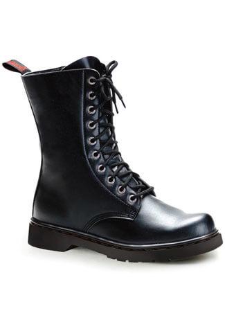 DEFIANT-200 Black Combat Boots