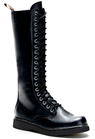 DEFIANT-400 Black Combat Boots