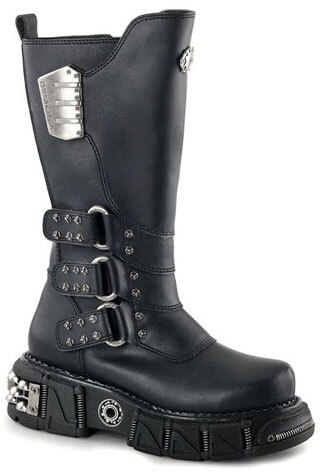 DMA-3003 Studded Platform Boots