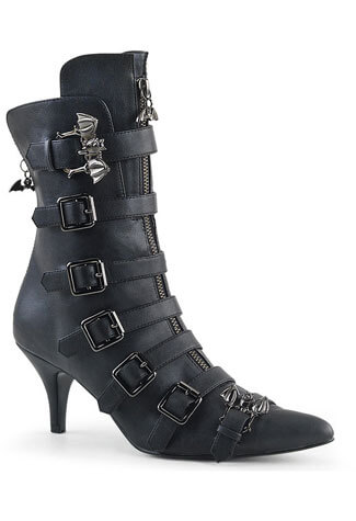 FURY-110 Winklepicker Ankle Boot