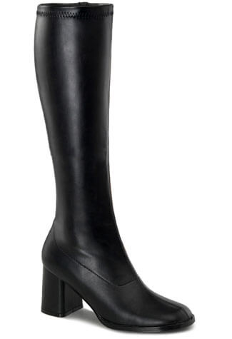 GOGO-300 Black Gogo Boots