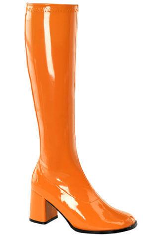 GOGO-300 Orange Gogo Boots