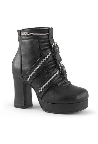 GOTHIKA-50 Ankle High Platform Boots
