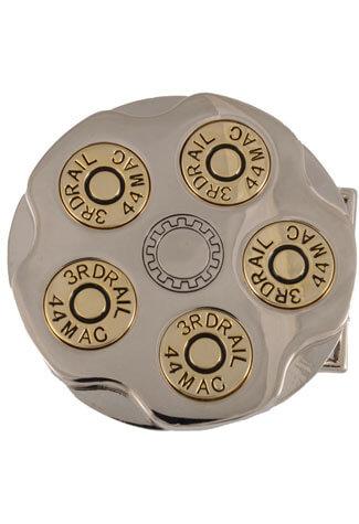 Gun Barrel Belt Buckle