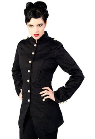 Ladys Army Coat