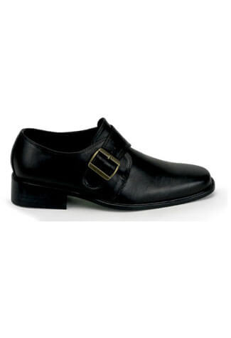 LOAFER-12 Black Loafer Shoes