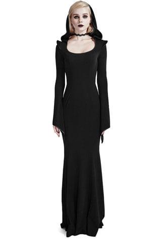 Maya Women's Hooded Gothic Dress