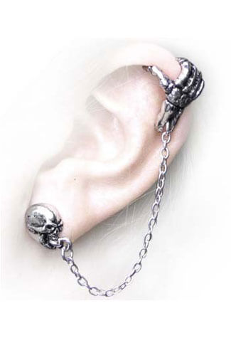 Mortal Remains Earring Cuffs