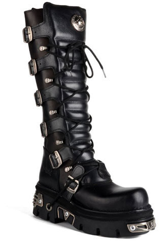New Rock M272-S1 Leather Boots
