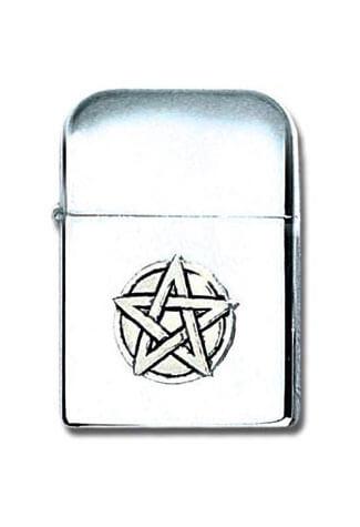 Pentagram Pewter Lighter
