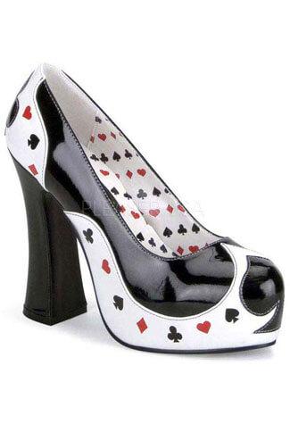 POKER-21 Play Card Heels