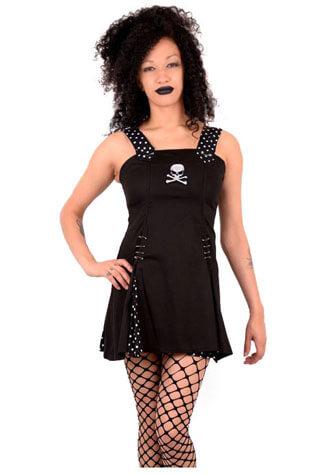 Polker Skull Mini Dress