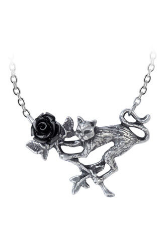 Rosenkatze Pendant Necklace