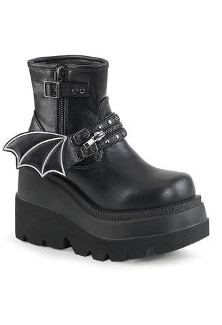 Shaker-55 Bat Wing Platform Boots