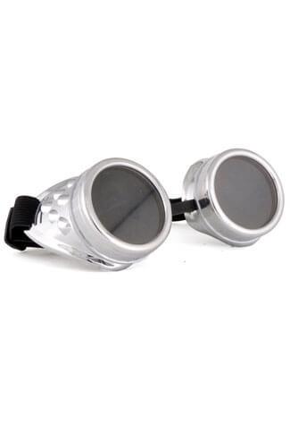 Plain Silver Goggles