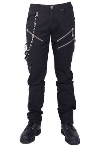 Skelett Men's Gothic Pants