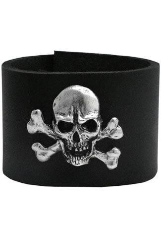 47 Leather Wristband