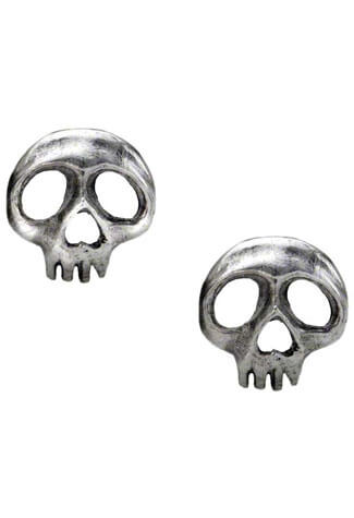 Skully Earring Studs