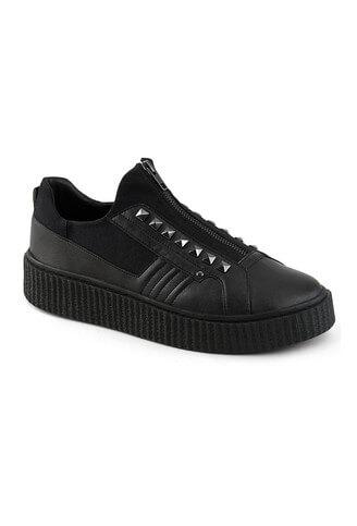 SNEEKER-125 zipper creeper sneaker