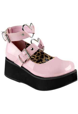 SPRITE-02 Babypink Platform Shoes