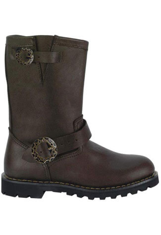 STEAM BOOT Brown Steampunk Boots