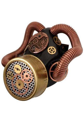 Steampunk Gears Respirator