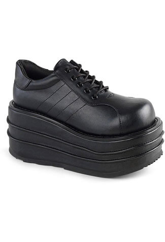 TEMPO-08 Vegan Leather Platform Shoes